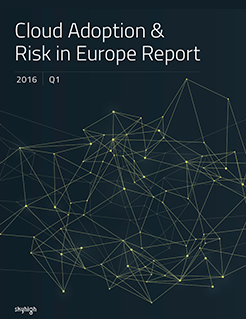 Cloud Adoption & Risk in Europe Q1 2016