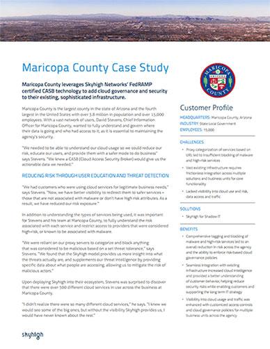 Maricopa County Case Study