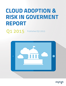 Cloud Adoption & Risk in Government Q1 2015