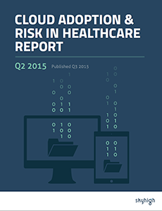 Cloud Adoption & Risk in Healthcare Report Q2 2015