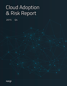 Cloud Adoption & Risk Report Q4 2015