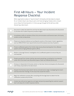 Incident response plan your home computer - Home plan