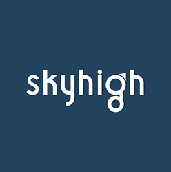 Skyhigh Logo White