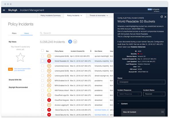 Cloud Access Security Broker (CASB) - McAfee MVISION Cloud