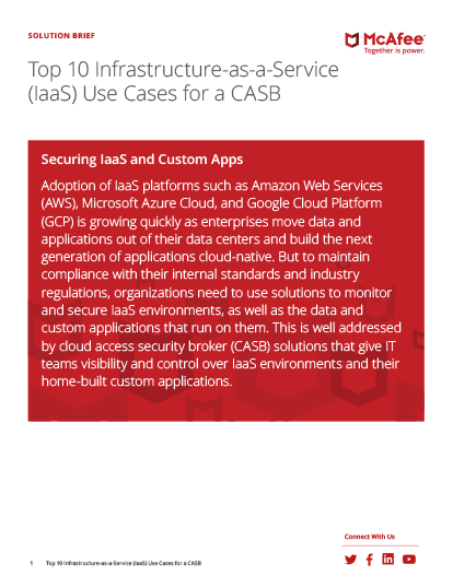 Top IaaS Use Cases for a CASB